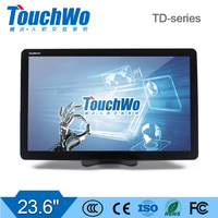 23.6 inch  touchscrren kiosk computer/monitor with 10 point touch