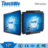17 inch embedded/open type touch monitor waterproof