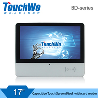 "17.3"" touch screen kiosk with"