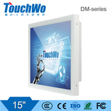 15 inch lcd computer for industrial controlling with multi points touch