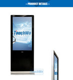 Multimedia advertising machine wall mount /stand