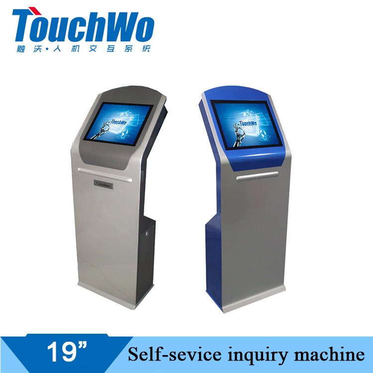 ​【BANK】Touch inquiry AIO computer is applied to all aspects of daily work