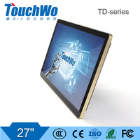 27 inch multi-applications touchscreen kiosk computer